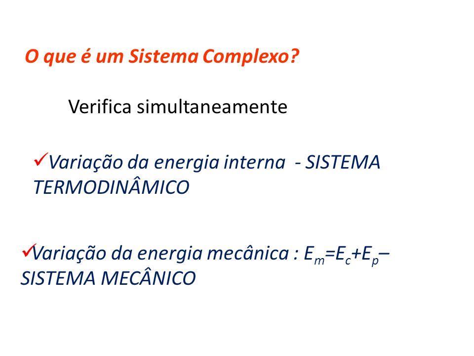 O que é um Sistema Complexo