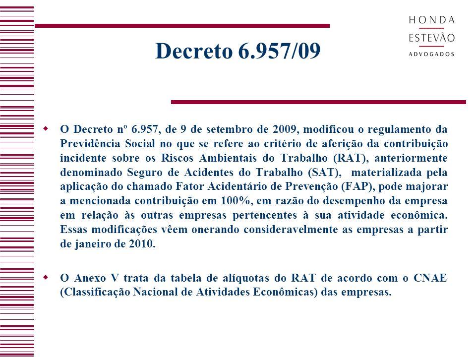 Decreto 6.957/09