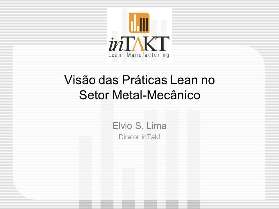 Visão das Práticas Lean no Setor Metal-Mecânico