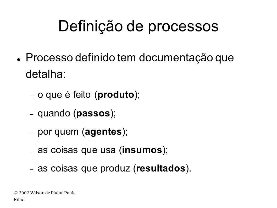 Definição de processos
