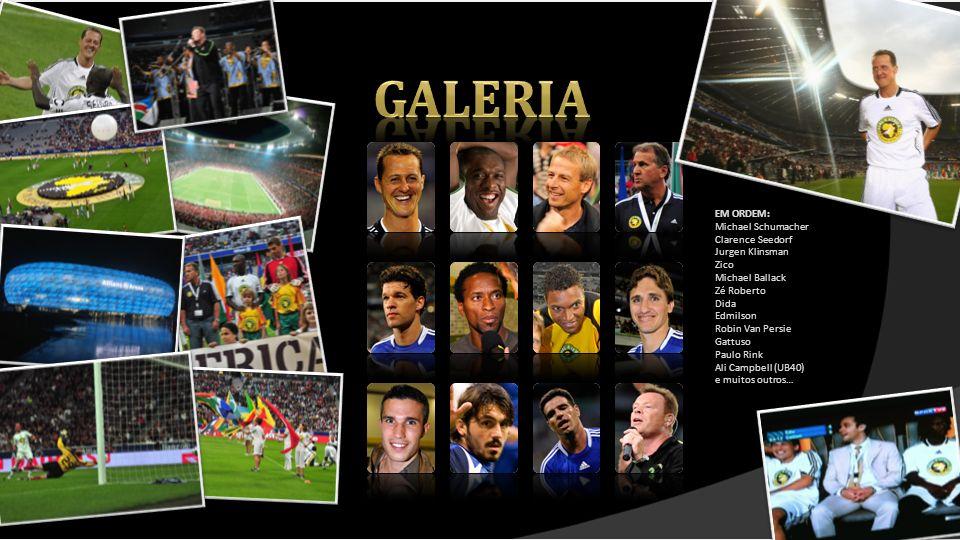 galeria EM ORDEM: Michael Schumacher Clarence Seedorf Jurgen Klinsman