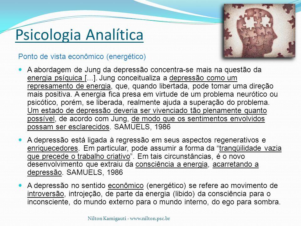 Psicologia Analítica Ponto de vista econômico (energético)