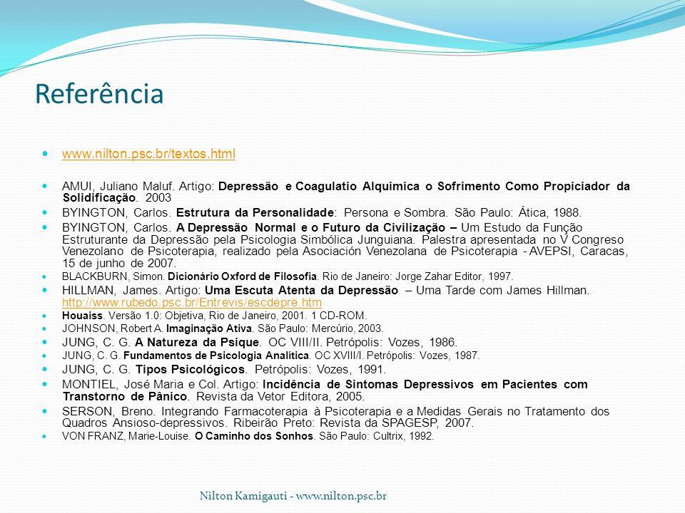 Referência www.nilton.psc.br/textos.html