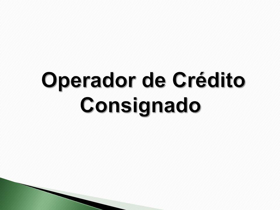 Operador de Crédito Consignado