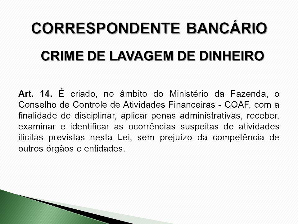 CORRESPONDENTE BANCÁRIO