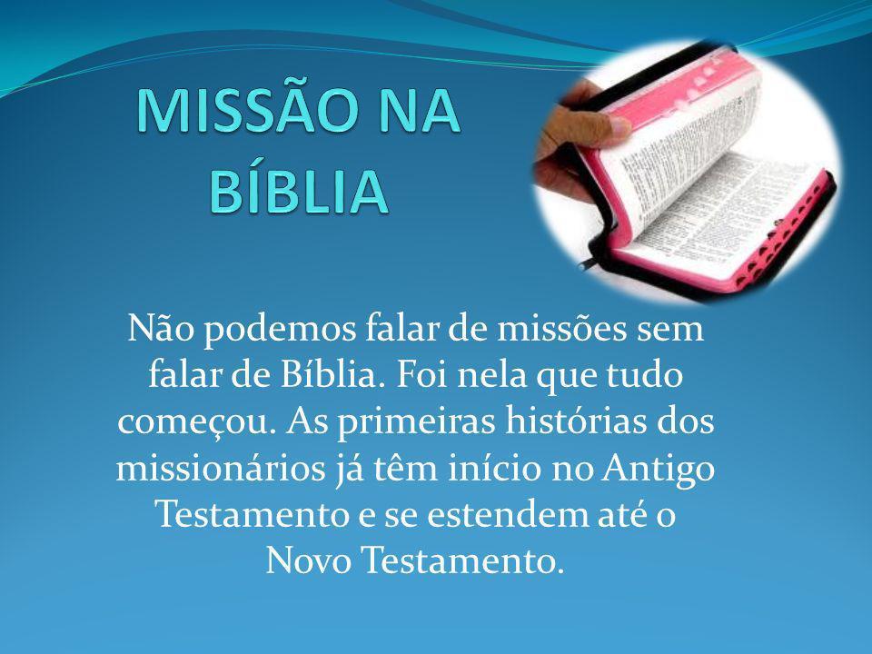 MISSÃO NA BÍBLIA