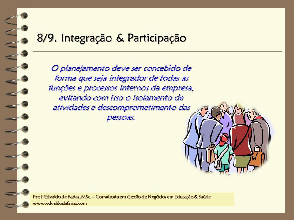 8/9. Integração & Participação