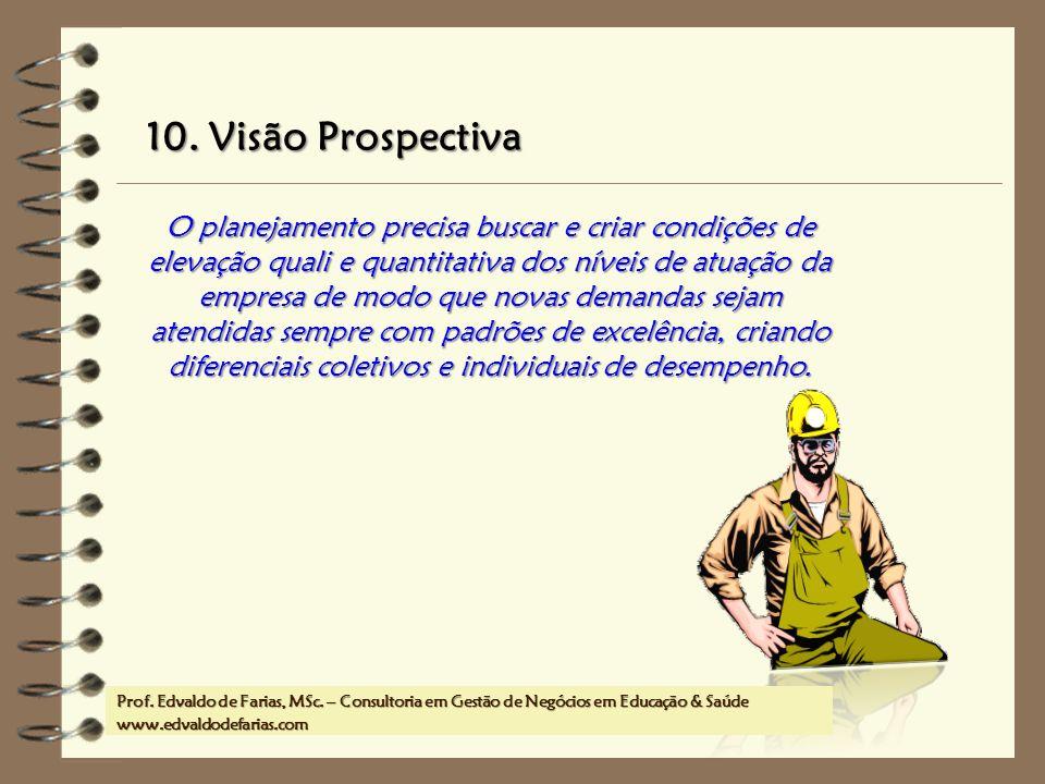 10. Visão Prospectiva