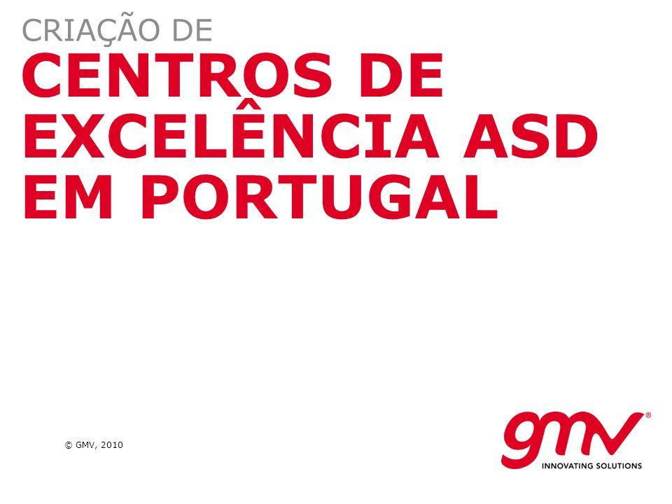 CENTROS DE EXCELÊNCIA ASD EM PORTUGAL