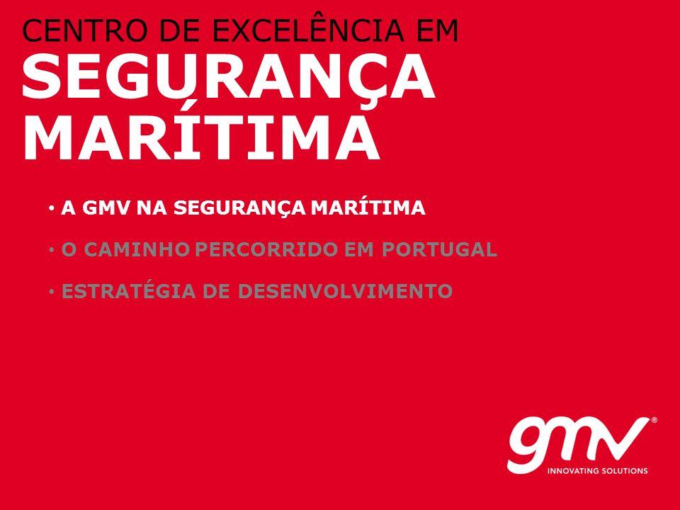 SEGURANÇA MARÍTIMA CENTRO DE EXCELÊNCIA EM A GMV NA SEGURANÇA MARÍTIMA