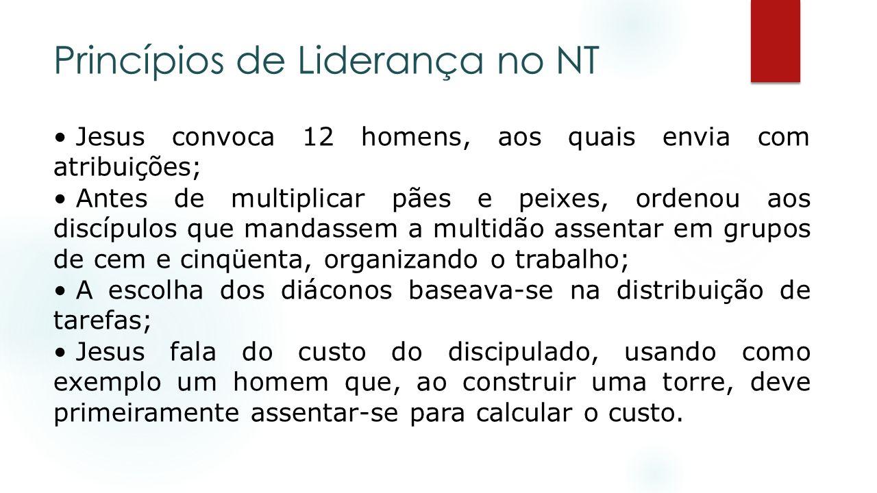 Princípios de Liderança no NT