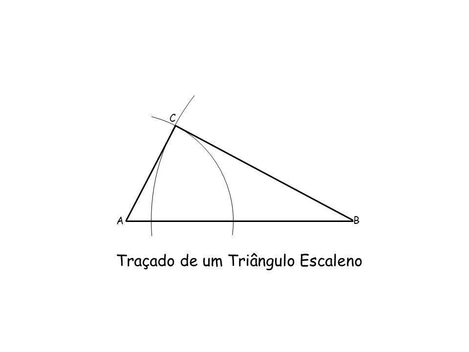 Traçado de um Triângulo Escaleno