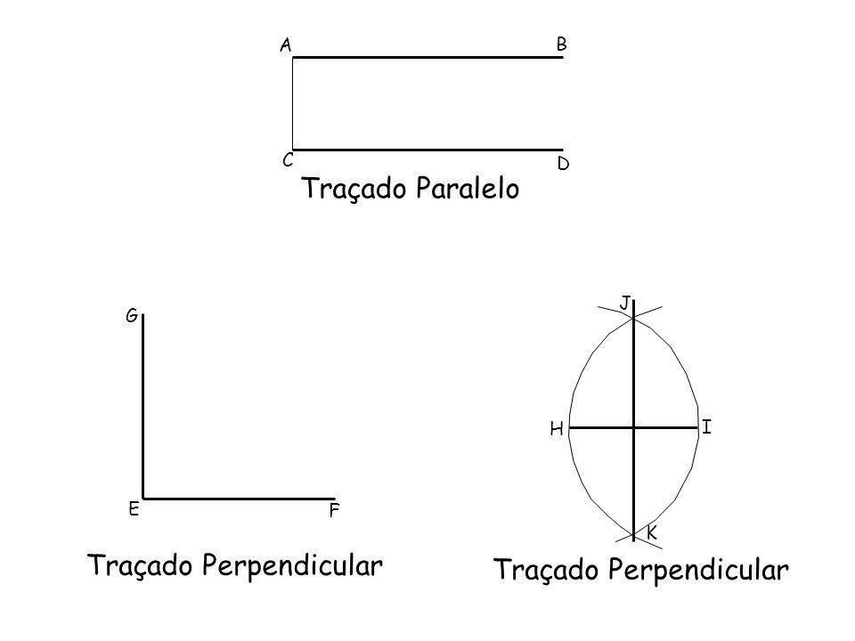 Traçado Perpendicular Traçado Perpendicular