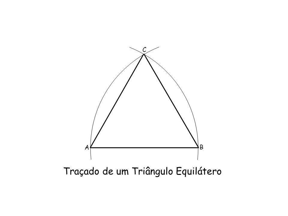 Traçado de um Triângulo Equilátero