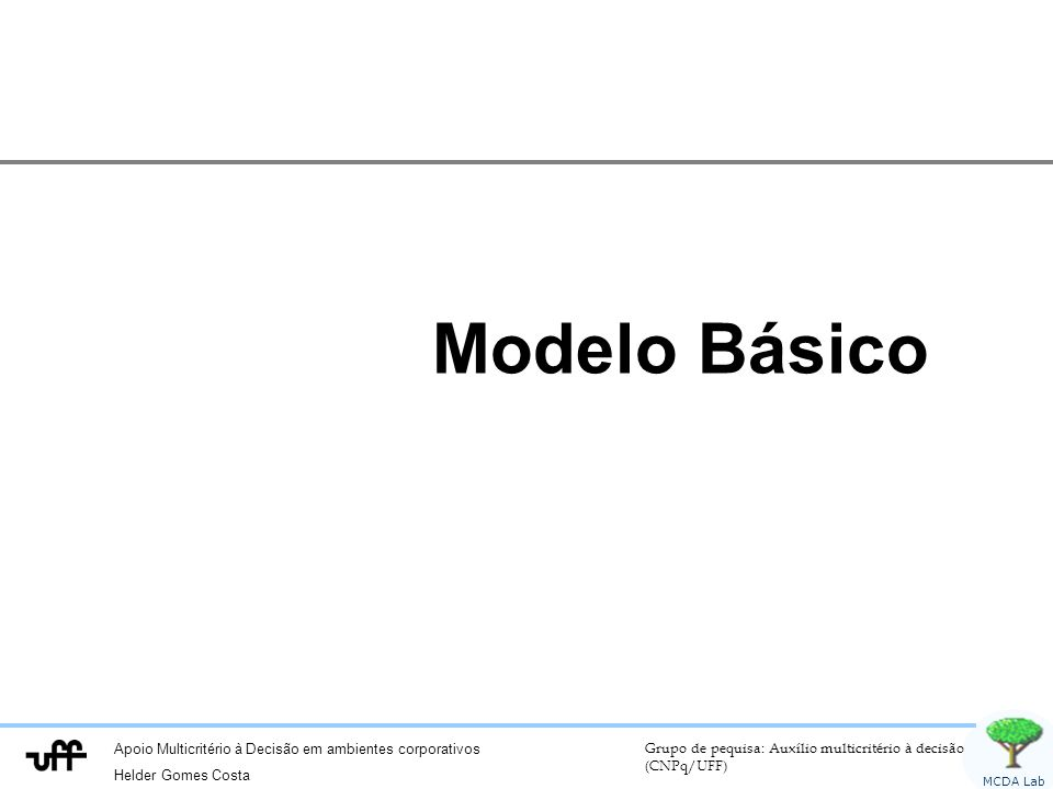 Modelo Básico