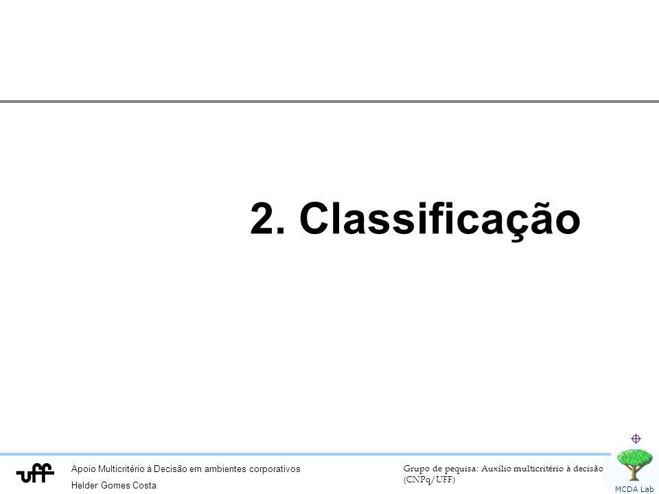 2. Classificação