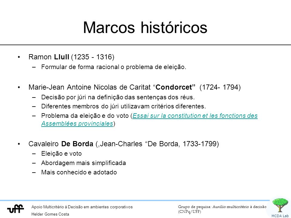 Marcos históricos Ramon Llull (1235 - 1316)