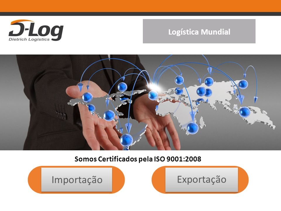 Somos Certificados pela ISO 9001:2008