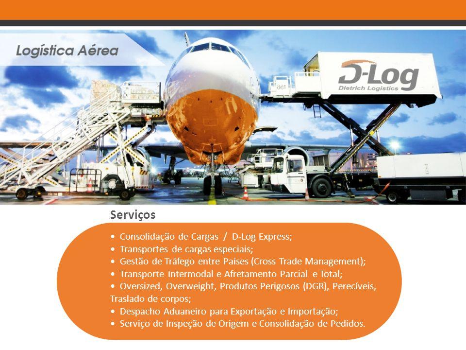 Serviços • Consolidação de Cargas / D-Log Express;