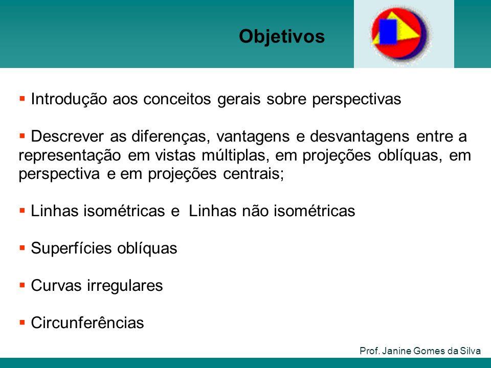 Objetivos Introdução aos conceitos gerais sobre perspectivas