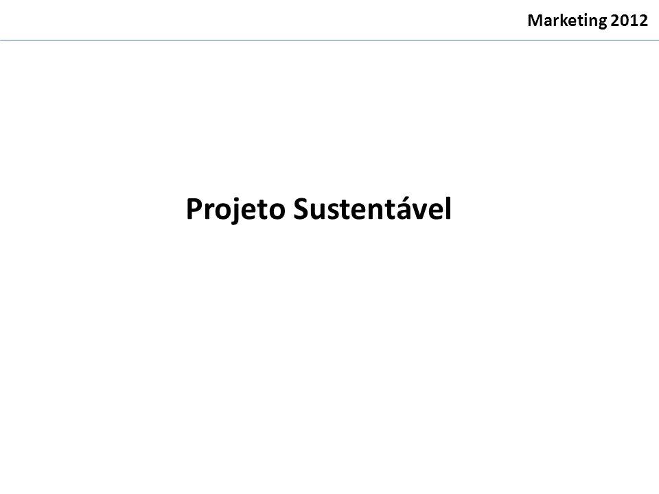Marketing 2012 Projeto Sustentável