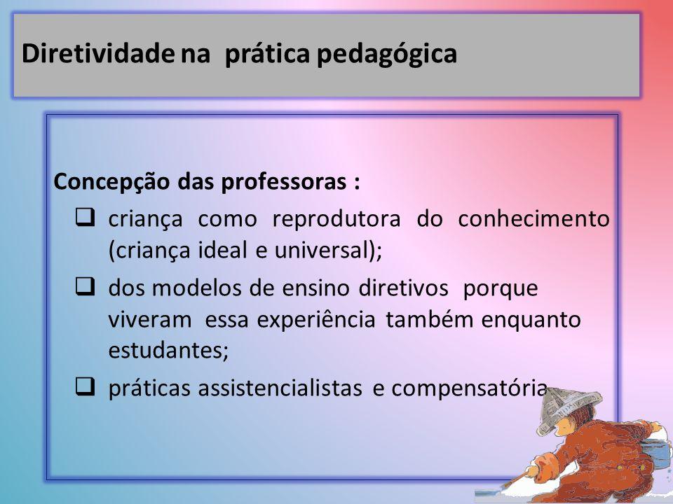 Diretividade na prática pedagógica