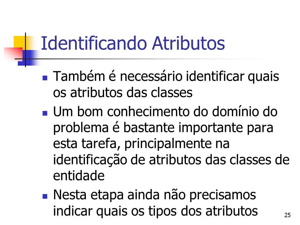 Identificando Atributos