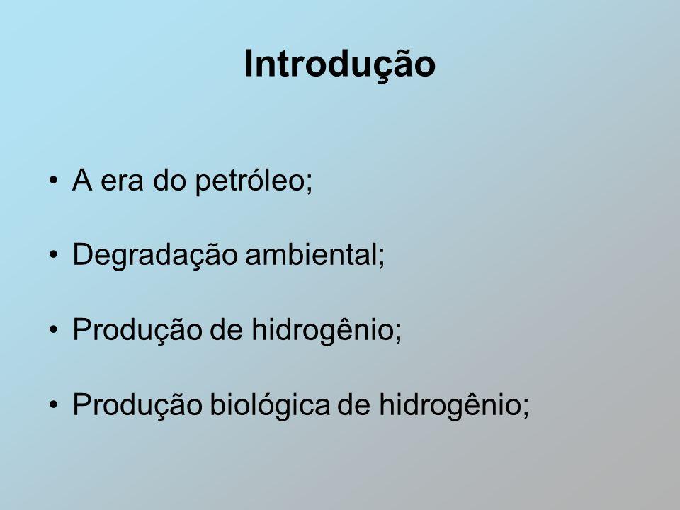 Introdução A era do petróleo; Degradação ambiental;