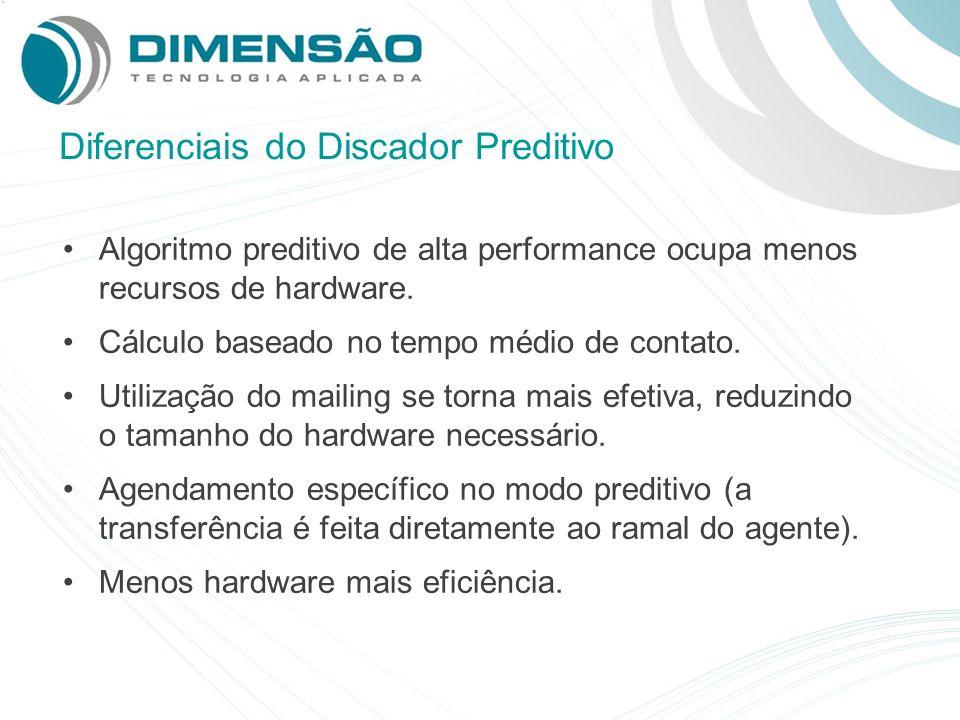 Diferenciais do Discador Preditivo