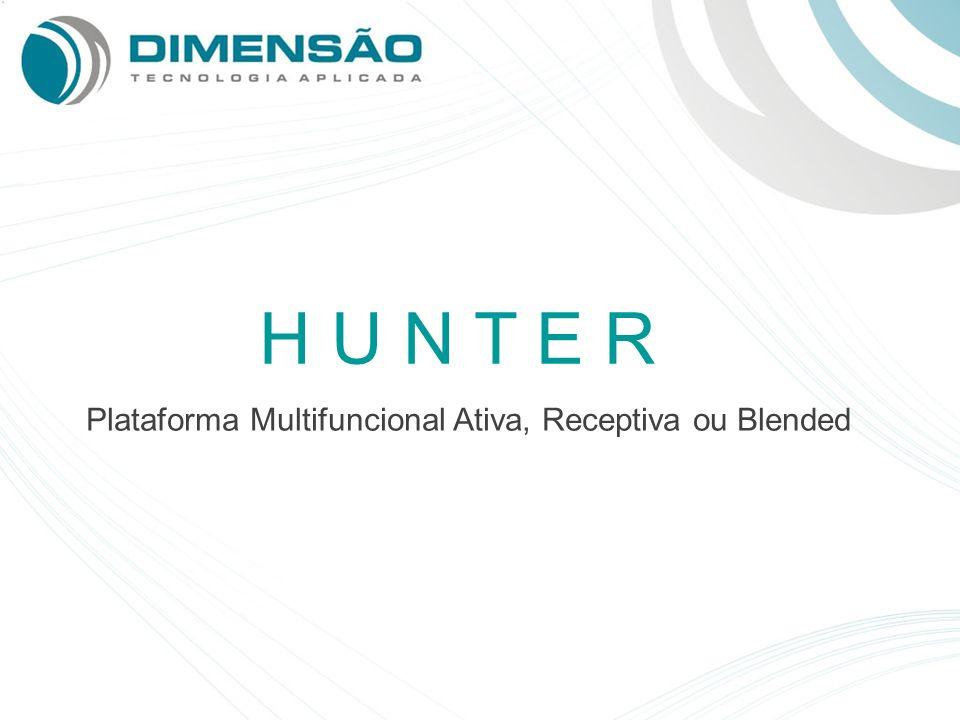 Plataforma Multifuncional Ativa, Receptiva ou Blended