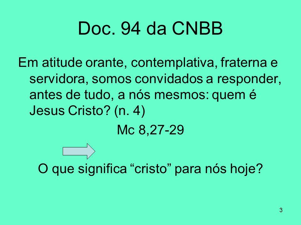 O que significa cristo para nós hoje