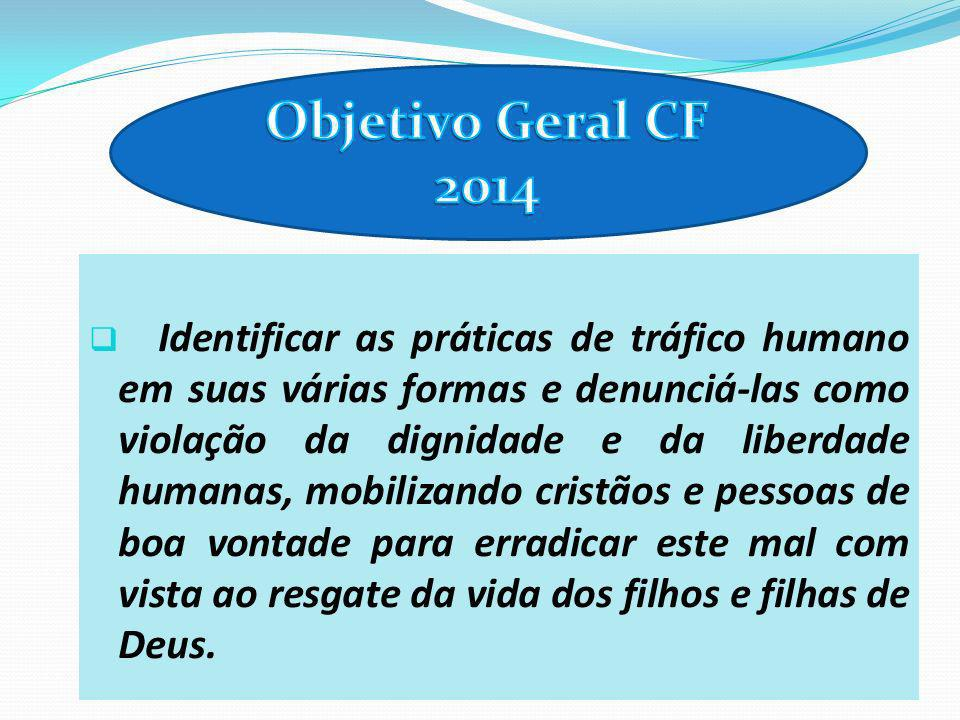 Objetivo Geral CF 2014