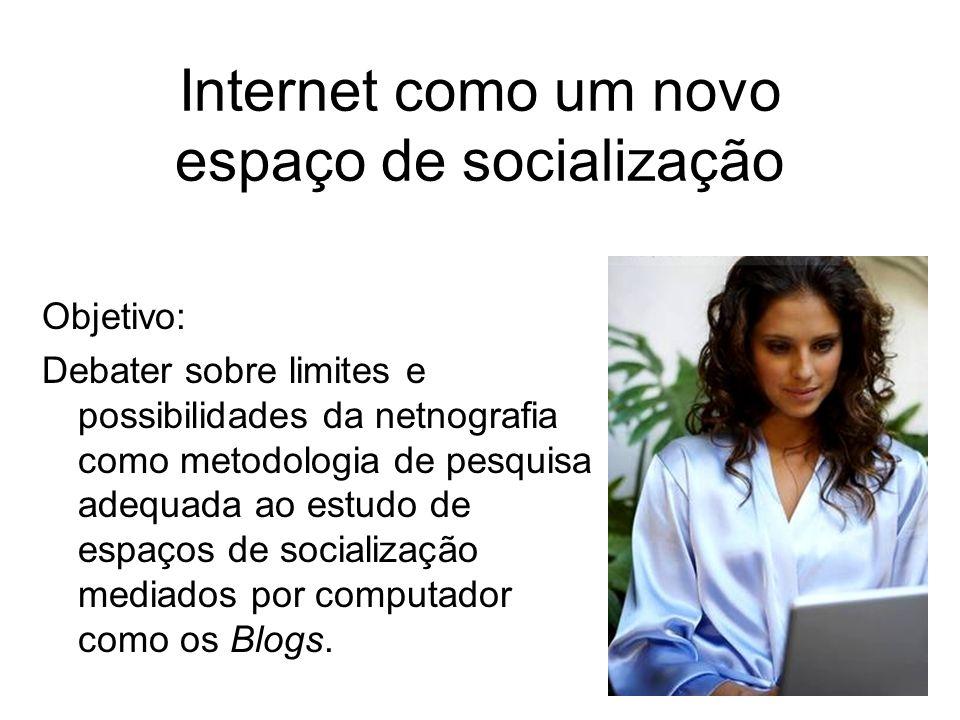 Internet como um novo espaço de socialização