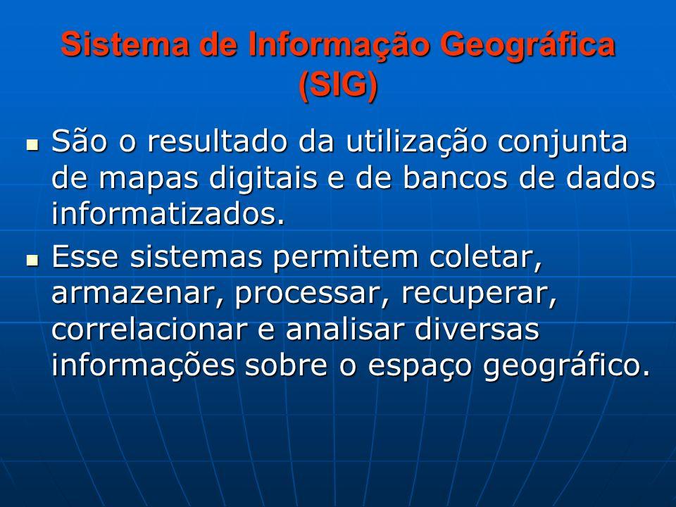 Sistema de Informação Geográfica (SIG)