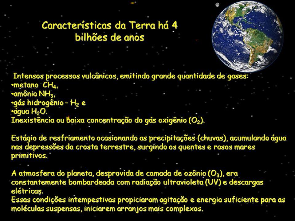 Características da Terra há 4 bilhões de anos