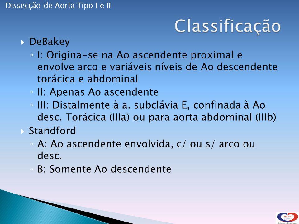 Classificação DeBakey