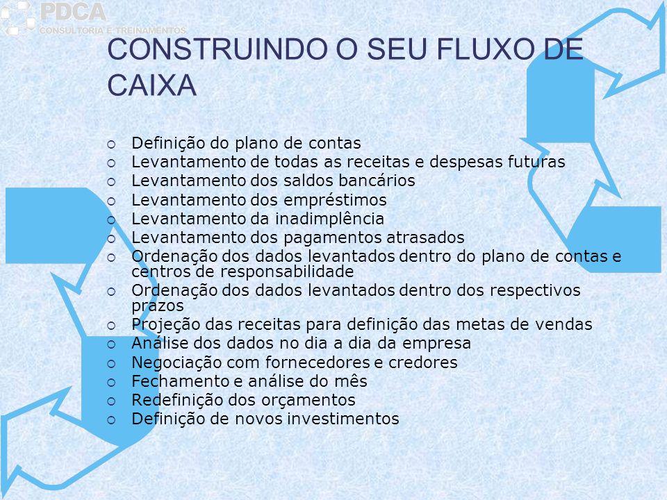CONSTRUINDO O SEU FLUXO DE CAIXA