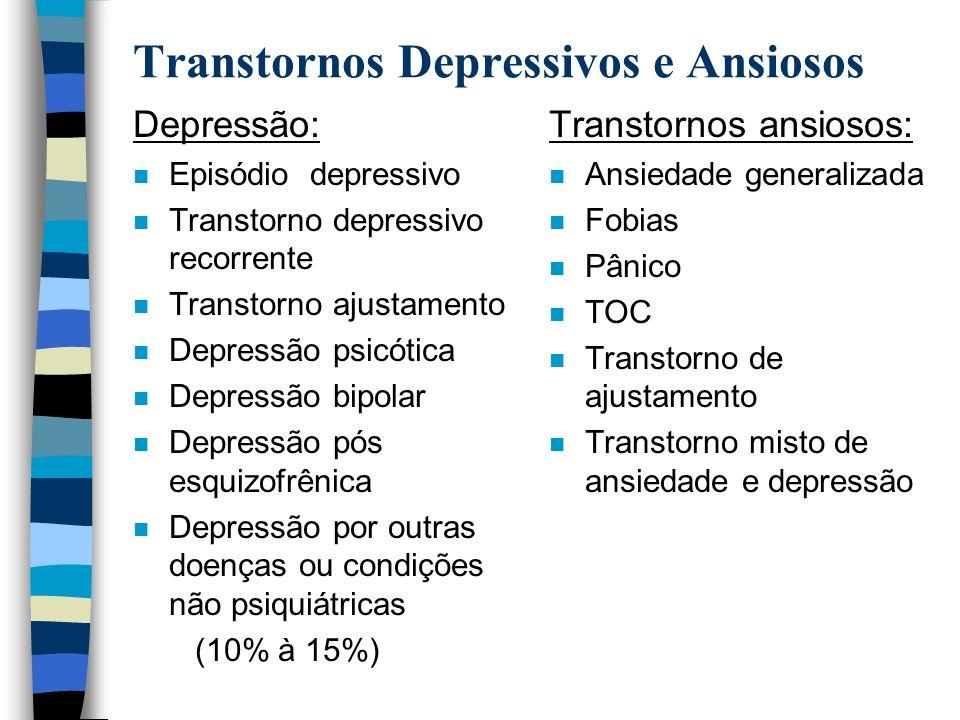 Transtornos Depressivos e Ansiosos