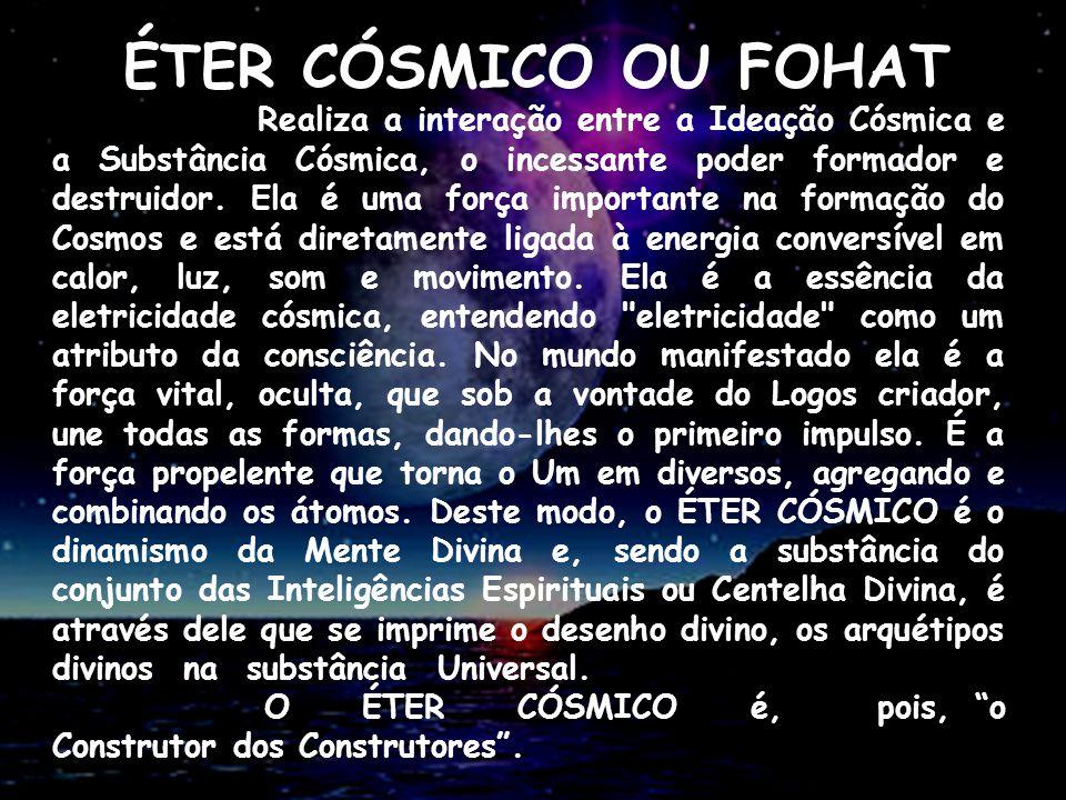 ÉTER CÓSMICO OU FOHAT