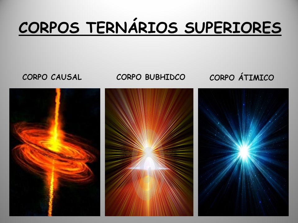 CORPOS TERNÁRIOS SUPERIORES