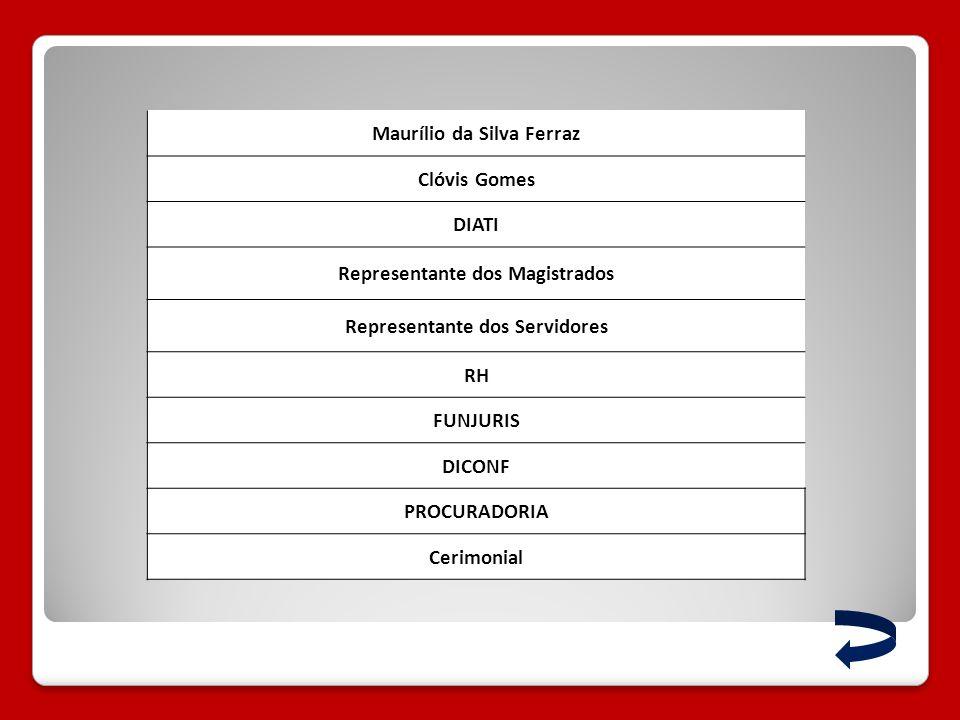 Maurílio da Silva Ferraz Clóvis Gomes DIATI