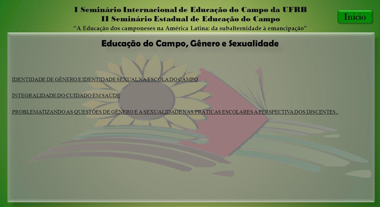 Educação do Campo, Gênero e Sexualidade