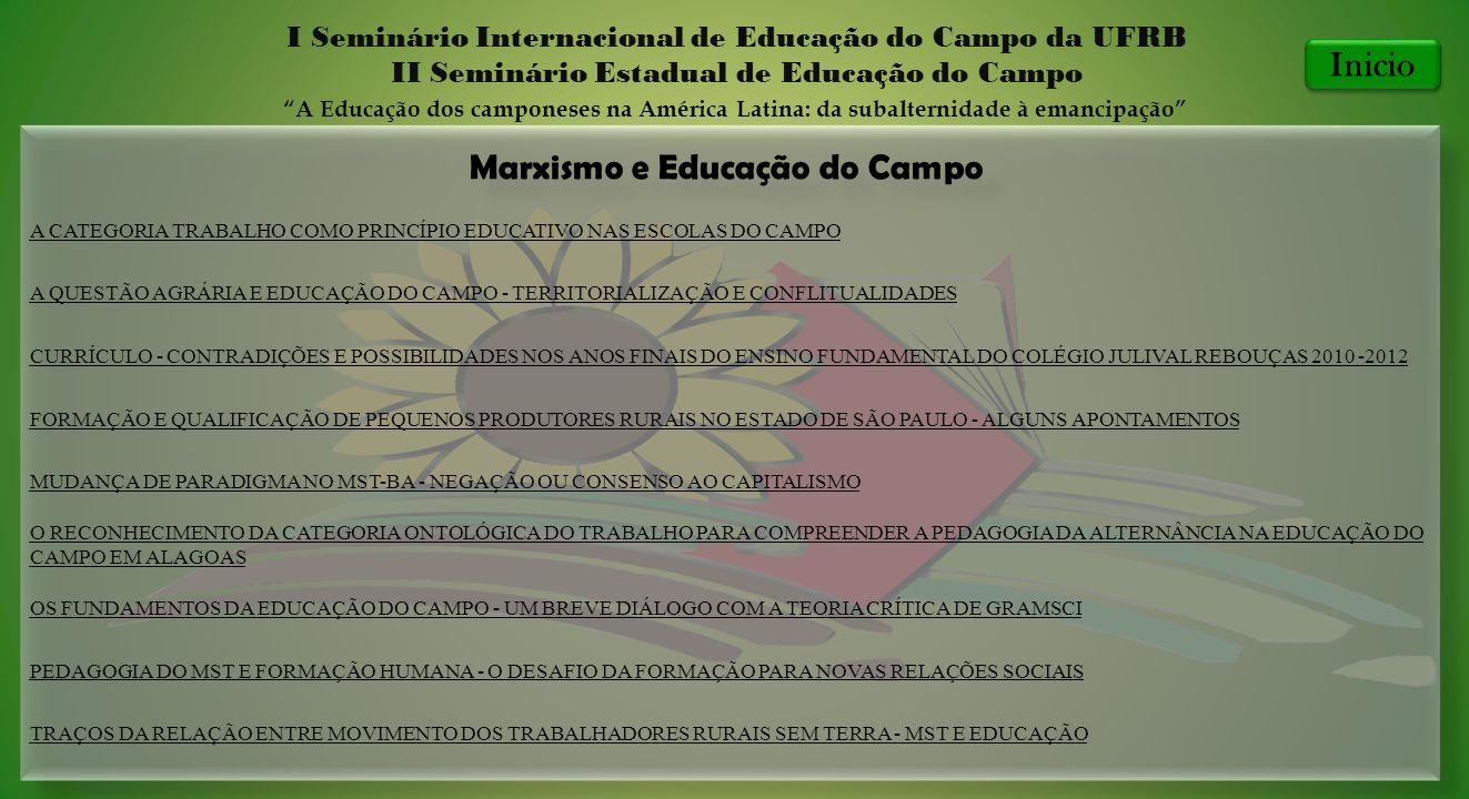 Marxismo e Educação do Campo