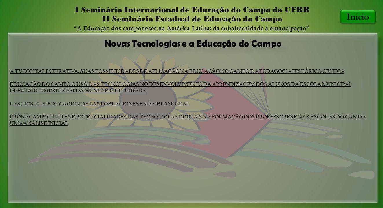 Novas Tecnologias e a Educação do Campo