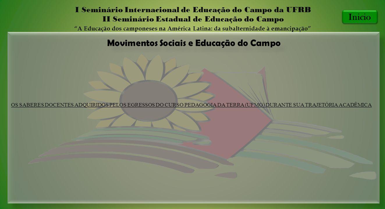 Movimentos Sociais e Educação do Campo