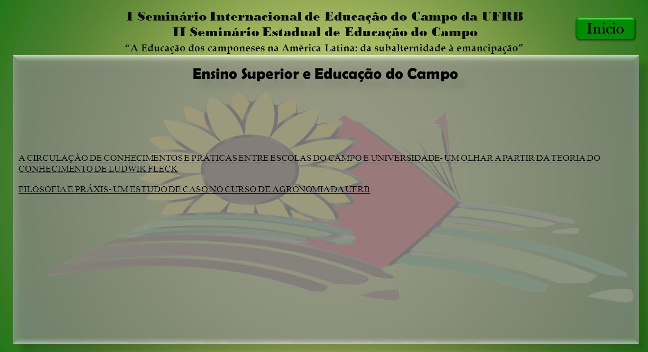 Ensino Superior e Educação do Campo