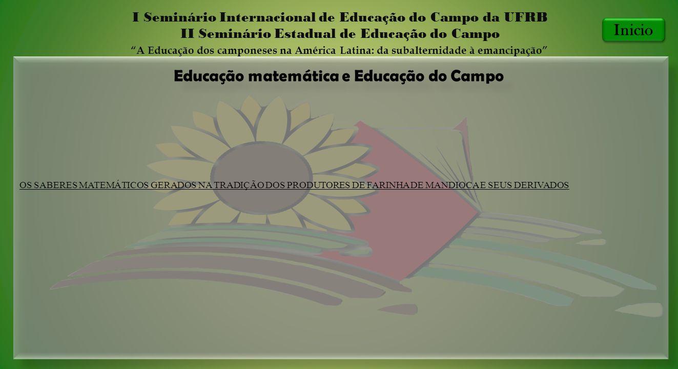 Educação matemática e Educação do Campo