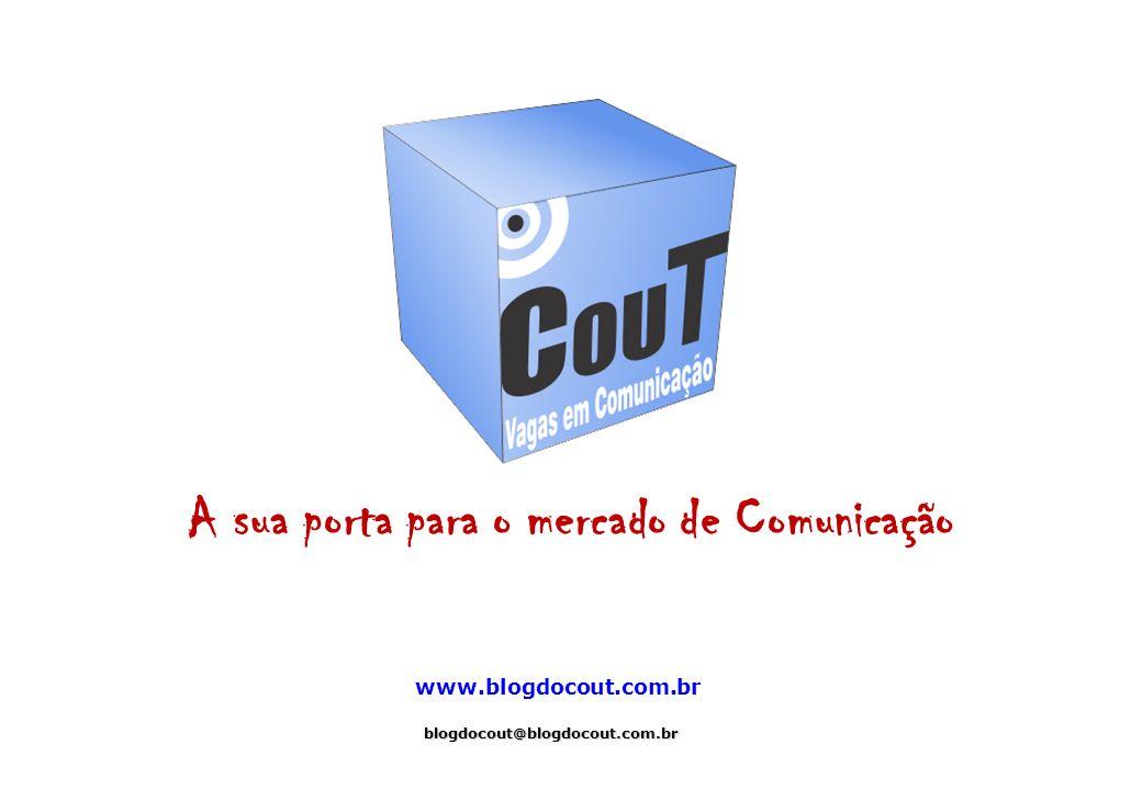 Contato blogdocout@blogdocout.com.br (021) 8717-0729