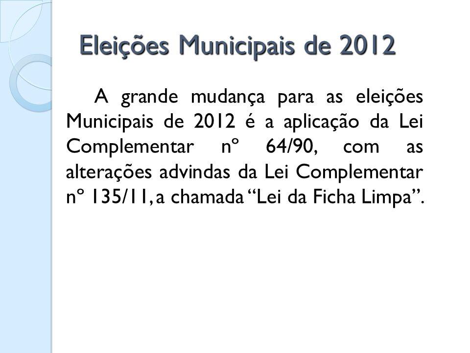 Eleições Municipais de 2012