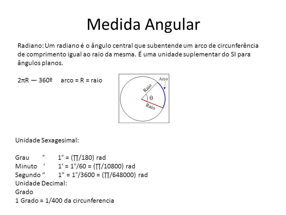 Medida Angular